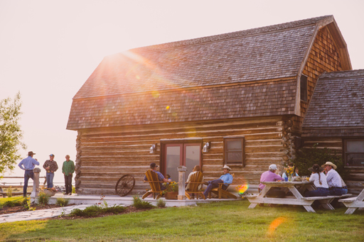 Group events at Stibal Barn in Southwest Montana