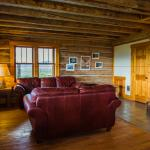 interior of remote vacation rental in Montana at the J Bar L Ranch